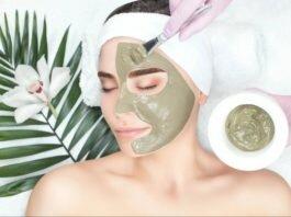 apply green tea on face