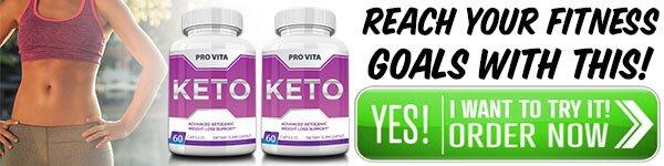 Pro Vita Keto ingredients
